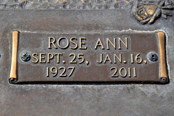 Rose Ann <i>La Follette</i> English