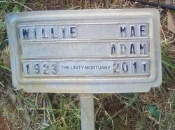 Willie Mae <i>Hill</i> Adams