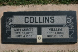 Mary <i>Garrett</i> Collins
