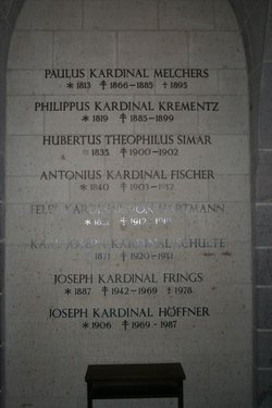 Cardinal Joseph H�ffner