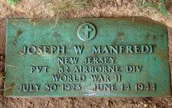 Pvt Joseph William Manfredi