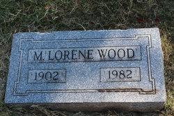 Minnie Lorene <i>Warner</i> Wood