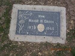 Maude <i>Harrah</i> Cross