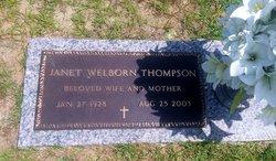 Janet Marie <i>Welborn</i> Thompson