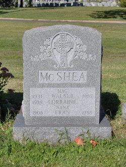 Walker F. Mcshea