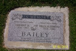 Telza Elizabeth <i>Parker</i> Bailey