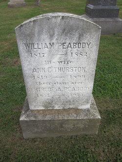 Ann E. <i>Thurston</i> Peabody