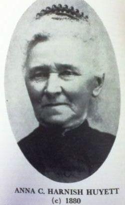 Anna Catharine <i>Harnish</i> Huyett