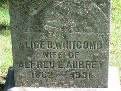 Mrs Alice B <i>Whitcomb</i> Aubrey