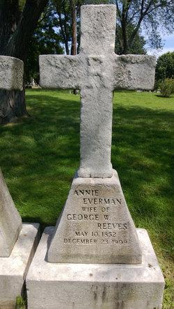 Annie <i>Everman</i> Reeves