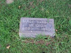 Alice <i>Sarber</i> Leidigh