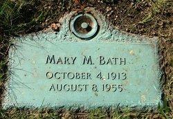 Mary M Bath