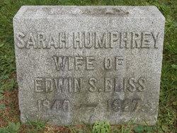 Sarah Mehitabel <i>Humphrey</i> Bliss
