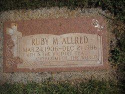 Ruby Mary <i>Wolaver</i> Allred