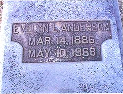 Evelyn <i>Lovejoy</i> Anderson