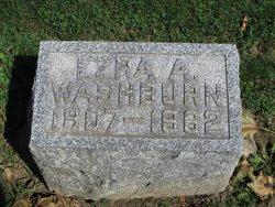 Ezra Allen Washburn, Sr