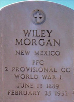 Wiley Marion Morgan