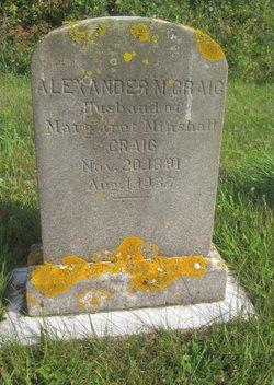 Alexander M. Craig