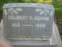 Delbert H Adams