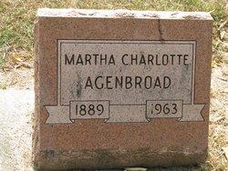 Martha Charlotte Agenbroad