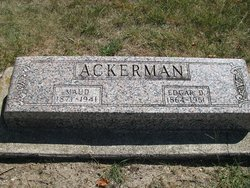 Edgar D Ackerman