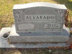 Mary I <i>Arias</i> Alvarado