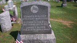 Edward W Oliver