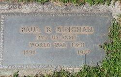 Paul Rea Bing Bingham