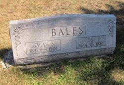 Sarah Samantha <i>Crawford</i> Bales