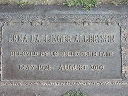 Erna Maria <i>Dallinger</i> Albertson