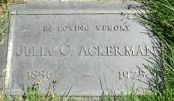 Julia C. Ackerman