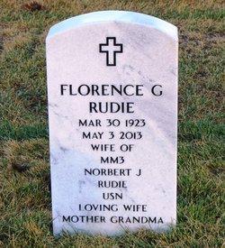 Florence Gertrude <i>Gelking</i> Rudie