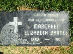 Margaret Elizabeth Barnes