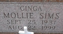 Mollie Ginga <i>Sims</i> Allen