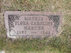 Flora Caroline <i>Wardlow</i> Harden