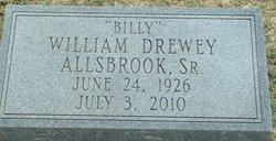 William Drewey Billy Allsbrook, Sr