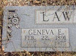 Geneva Ellen <i>Stevens</i> Lawson