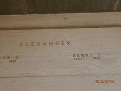 Geraldine Gerri <i>Bolin</i> Alexander
