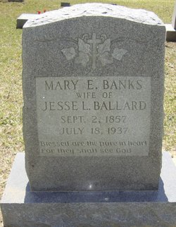 Mary Eliza <i>Banks</i> Ballard