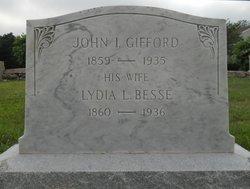 Lydia Louise <i>Besse</i> Gifford