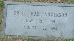 Erlie Mae <i>Rackley</i> Anderson