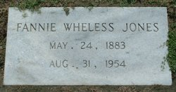 Fannie <i>Wheless</i> Jones