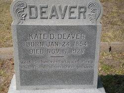 Kathryn Drew Kate <i>Morris</i> Deaver