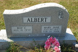 Mary Jane <i>Wisecup</i> Albert