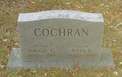 Margaret Maggie <i>Clifton</i> Cochran