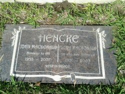 John MacDonald Hencke