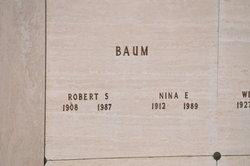 Nina E <i>Ludden</i> Baum