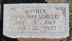 Emma Albertina <i>Jape</i> Schultz
