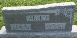 Julia G <i>Paris</i> Allen
