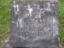 Josie S <i>Fickett</i> Butterfield